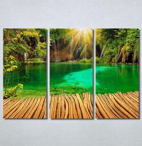 Slike na platnu Tirkizno jezero Nina30378_3