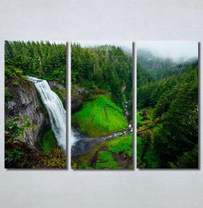 Slike na platnu Vodopad priroda Nina30323_3