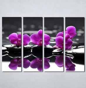 Slike na platnu Wellness spa ljubicasta orhideja Nina 183_4