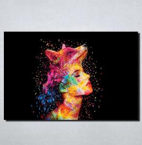 Slike na platnu Žena lisica Nina114_P