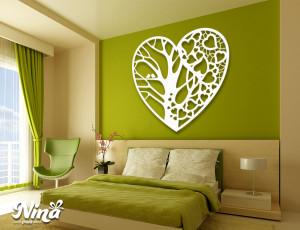 Dekor Nina Drvo srce drvo nd018