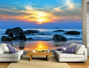 Foto tapeta Najlepši zalazak sunca Tapet076