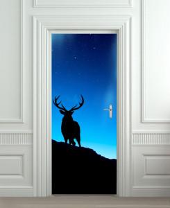 Nalepnica za vrata Jelen 6104