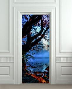 Nalepnica za vrata Noć na jezeru 6139