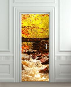 Nalepnica za vrata Potok 6141