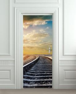 Nalepnica za vrata Pruga 6136