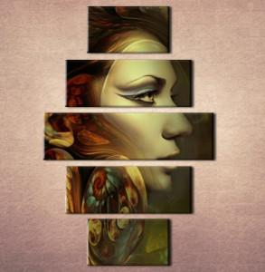 Slika na platnu Devojka sa krilima Nina3064_ 5