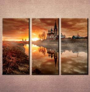 Slika na platnu Dvorac na jezeru Nina3078_3