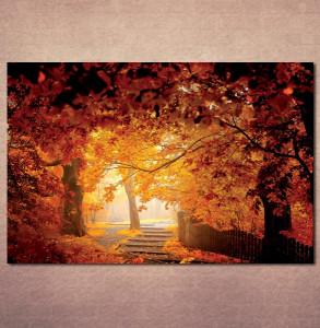 Slika na platnu Jesen u parku Nina3071_P