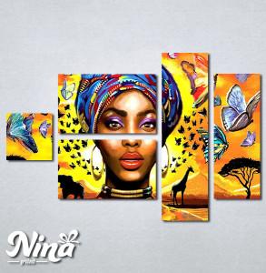 Slike na platnu Africki motiv Nina326_5