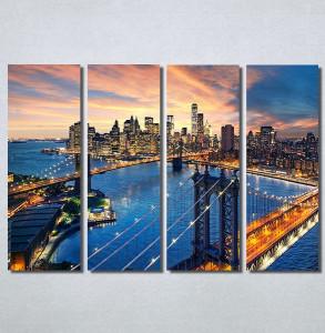 Slike na platnu City and sunset Nina30227_4