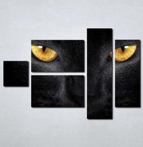 Slike na platnu Crna mačka Nina030_5
