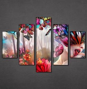 Slike na platnu Cveće i leptiri Nina3092_5