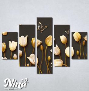 Slike na platnu Cvetna čarolija Nina299_5