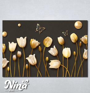 Slike na platnu Cvetna čarolija Nina299_P