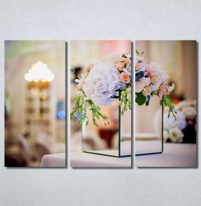 Slike na platnu Cvetna dekoracija Nina30346_3