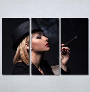 Slike na platnu Dama u crnom Nina30345_3