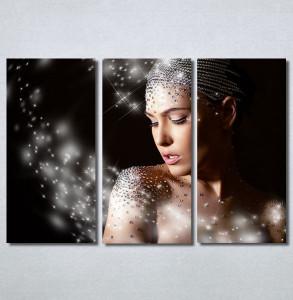 Slike na platnu Devojka i dijamanti Nina30357_3