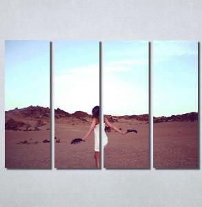 Slike na platnu Devojka na plaži Nina30198_4