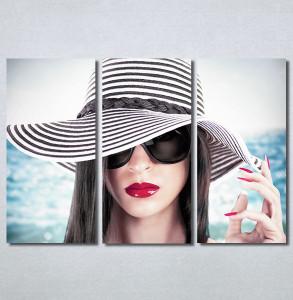 Slike na platnu Devojka sa šeširom Nina30365_3