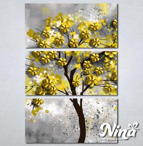 Slike na platnu Drvo žuto lišće Nina295_3