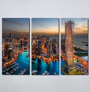 Slike na platnu Dubai nocu Nina051_3