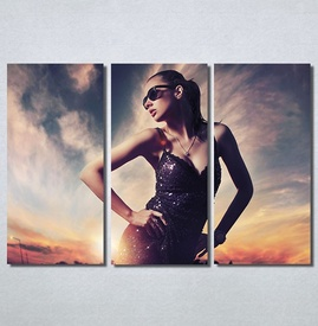 Slike na platnu Fashion girl Nina30147_3