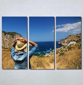 Slike na platnu Girl and sea Nina30155_3