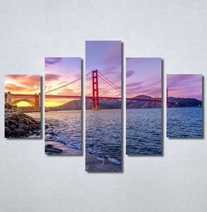 Slike na platnu Golden Gate Bridge Nina30287_5