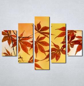 Slike na platnu Jesenji list Nina005_5