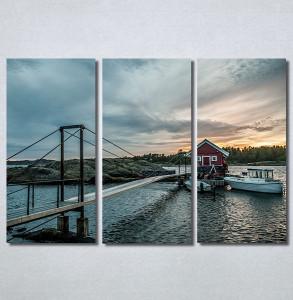 Slike na platnu Kuća na vodi Nina30356_3