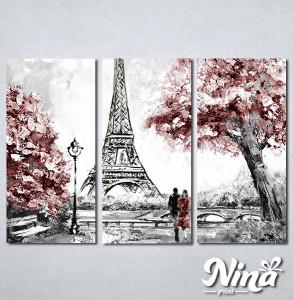 Slike na platnu Ljubav u Parizu Nina319_3