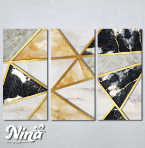 Slike na platnu Moderan mermer Nina287_3