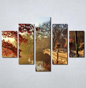 Slike na platnu Most i priroda Nina063_5