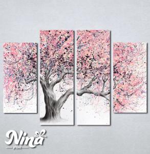 Slike na platnu Neobicno drvo Nina241_4
