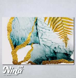 Slike na platnu Paprat apstrakcija Nina264_P