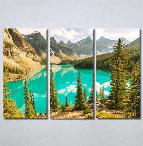 Slike na platnu Planina i jezero Nina30341_3