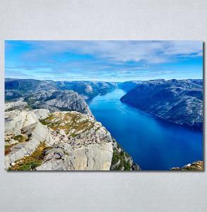 Slike na platnu Poged sa planine Nina30265_P