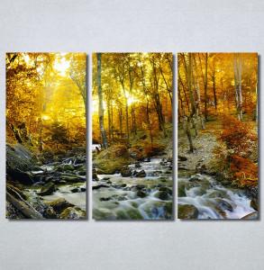 Slike na platnu Potok kroz šumu Nina30273_3