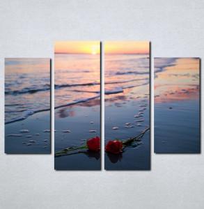 Slike na platnu Ruže na plaži Nina066_4