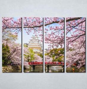 Slike na platnu Sakura Japan Nina083_4