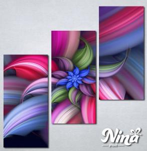 Slike na platnu Šarena apstrakcija Nina251_3
