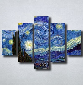 Slike na platnu Starry Night Vincent Van Gogh Nina149_5