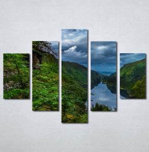 Slike na platnu Šuma i reka Nina30118_5