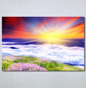 Slike na platnu Sunce i talasi Nina30232_P