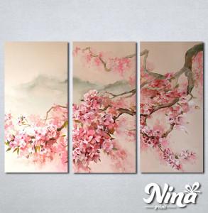 Slike na platnu Tresnjin cvet apstrakcija Nina344_3