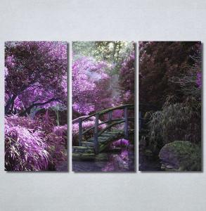 Slike na platnu Vrt i ljubičasto drvo Nina30220_3