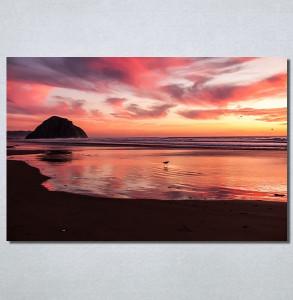 Slike na platnu Zalazak sunca na moru Nina30167_P
