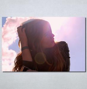 Slike na platnu Zamisljena devojka Nina30212_P
