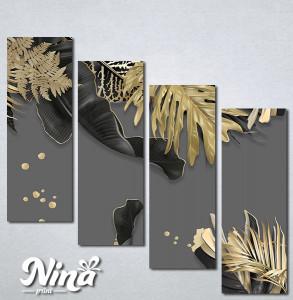 Slike na platnu Zlatna paprat Nina313_4